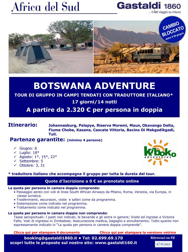Africa Australe - BOTSWANA